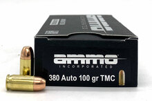 Ammo INC 380 ACP 100gr TMC Ammo - 50 Rounds