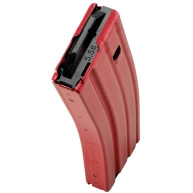 Duramag AR15 5.56NATO Aluminum 30rd Magazine - Red
