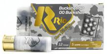 "RIO 12ga 2.75"" 00 Buck #9 Shot Ammo - 5 Rounds"