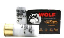 "Wolf Performance 12ga 2.75"" 1-1/8oz Power Rifled Slug Ammo - 10 Rounds"