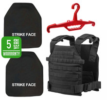 Level 4 Body Armor & Plate Carrier Tactical Package *Free Shipping*
