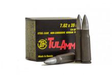 TulAmmo 7.62x39 122gr FMJ Ammo - 1000 Rounds