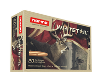 Norma Whitetail 270 Win 130gr JSP Ammo - 20 Rounds