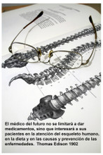 Doctor of the Future (Edison Quote) - Spanish
