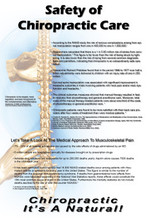 Safety of Chiropractic Poster