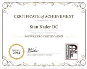 Posture Pro Certification Available.