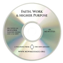 Faith, Work and Higher Purpose CD
