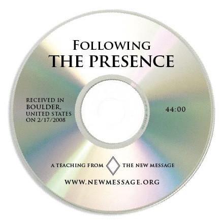 Following the Presence CD