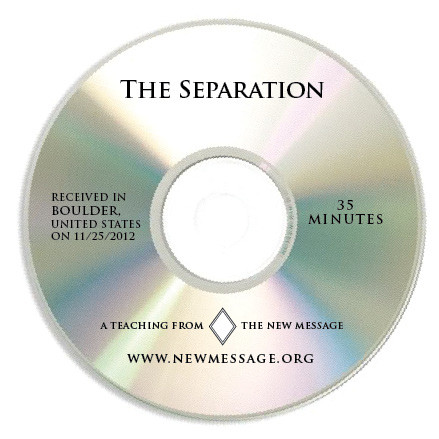 The Separation CD