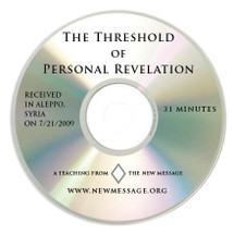The Threshold of Personal Revelation - CD