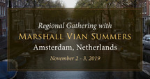 Regional Gathering, Amsterdam, Netherlands, Saturday & Sunday, November 2 - 3, 2019