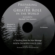 Preparing for a Greater Role in the World CD