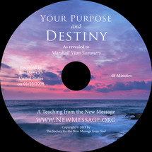 Your Purpose and Destiny CD