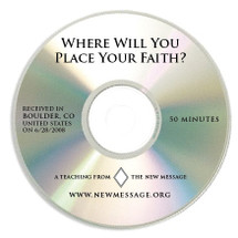 Where Will You Place Your Faith? CD