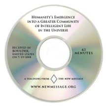 Humanity's Emergence into the Greater Community CD