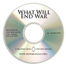 What Will End War? CD