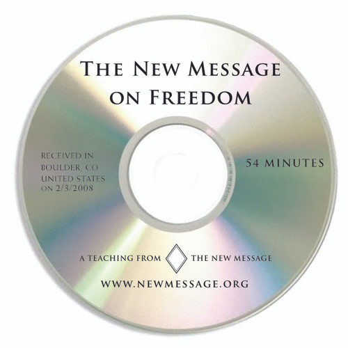 The New Message on Freedom CD