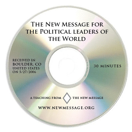 The New Message for Political Leaders CD