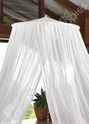 Cotton Bed Canopy Detail