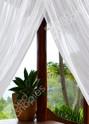 Mosquito netting detail