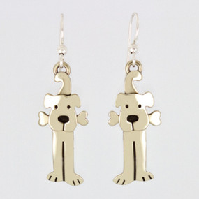 LuLu Dog Drop Earrings Far Fetched