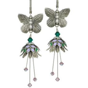 Butterfly Garden NoMonet Earrings