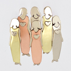 Six Sisters Pin