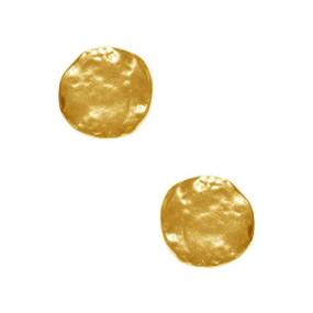Karine Sultan Matte Gold Earrings