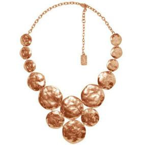 Karine Sultan Lola Necklace in Rose Gold