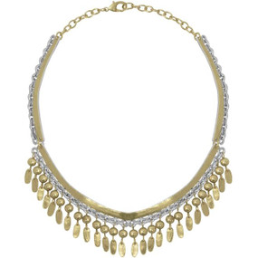 Karine Sultan Gold & Silver Necklace