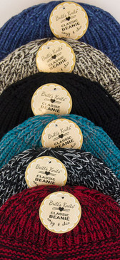 Knit Beanie Hat Colors Selection