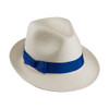 Ladies Jenny Trilby in Cuenca weave with Royal Blue band