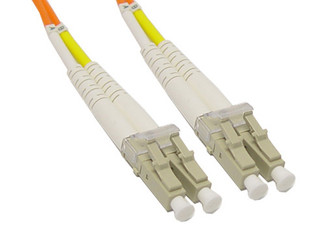 LC to LC Multimode Duplex Fiber Optic Patch Cable