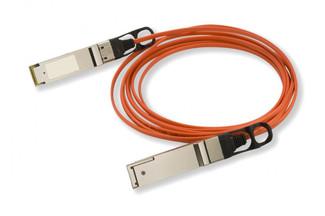 40GB-F01-QSFP Enterasys Compatible QSFP+-QSFP+ AOC (Active Optical Cable)