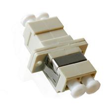 LC to LC Duplex Metalic Sleeve Fiber Optic Adaptor