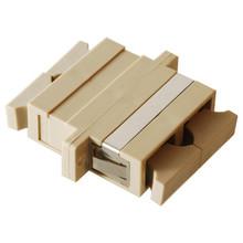 SC to SC Duplex Metal Sleeve Fiber Optic Adaptor