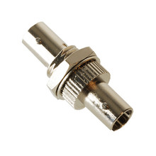 ST to ST Simplex Ceramic Sleeve Fiber Optic Adaptor Ceramic Sleeve