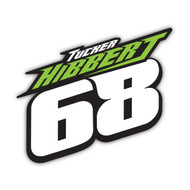 Tucker Hibbert 68 2017 Sticker