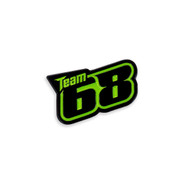 Tucker Hibbert Team 68 Enamel Pin