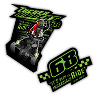 Tucker Hibbert Incredible Ride Sticker Pack