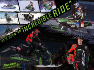 Tucker Hibbert Incredible Ride Poster