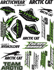 Tucker Hibbert Team Arctic Stickers