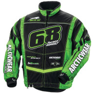 Arcticwear Men's Tucker Hibbert Team Arctic Jacket - Black & Green - Get FREE hat or beanie!