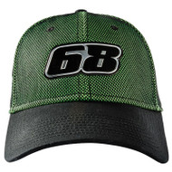 Arcticwear 68 Snapback Hat - Black & Green