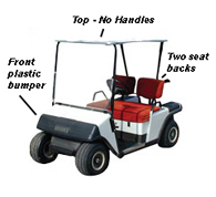 ezgo golf cart year & model guide ezgo golf parts & accessories ezgo gas wiring diagram ezgo golf cart ezgo marathon model (1988 1994)
