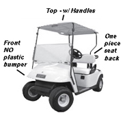 ezgo golf cart - ezgo txt model (1996-present)