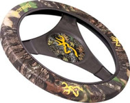 Golf Cart Camo Steering Wheel Cover (Browning Break-up)