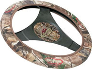 Golf Cart Camo Steering Wheel Cover, (Realtree AP HD)