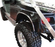 Chrome Fender Trim for all Club Car, EZGO, and Yamaha Golf Carts