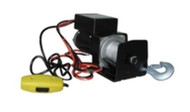 Golf Cart 12 Volt DC Winch w/Remote - Universal